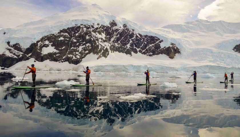 Antarctica SUP