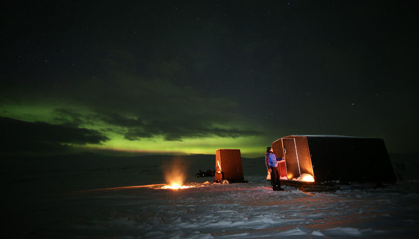 Aurora Wilderness Camp in Kilpisjarvi Finland