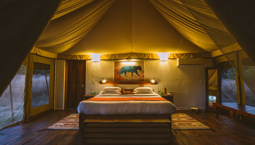 India tent glamping