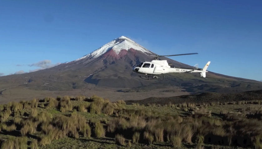Quasar Expeditions New Helicopter Tours