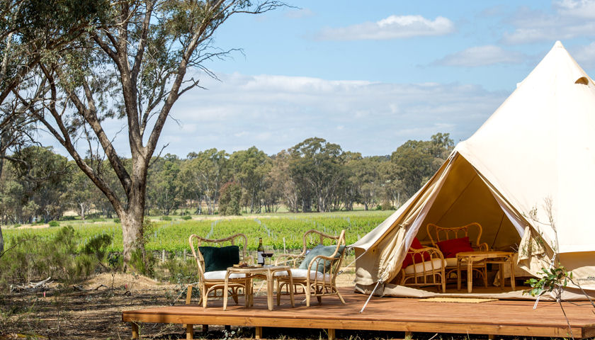 Balgownie Estate Bendigo glamping