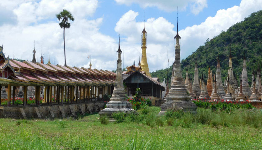 Sagar village stupas
