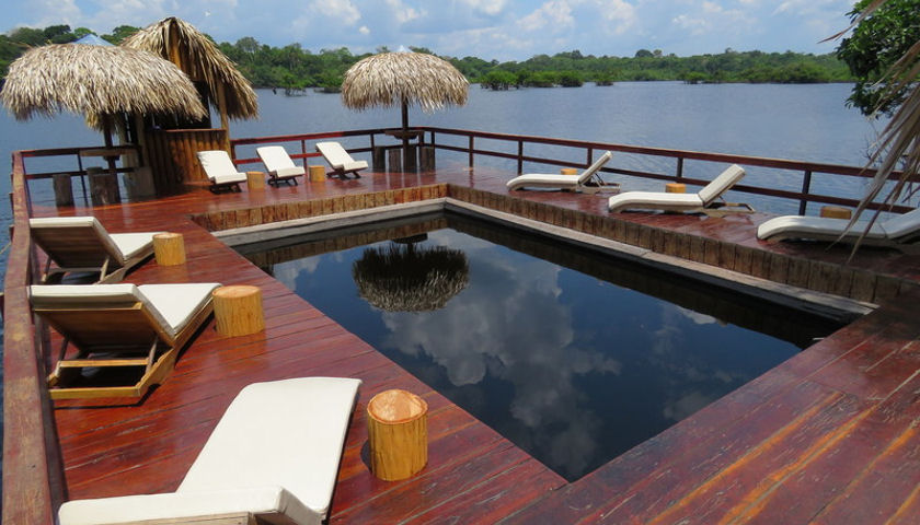 Juma Amazon Lodge pool