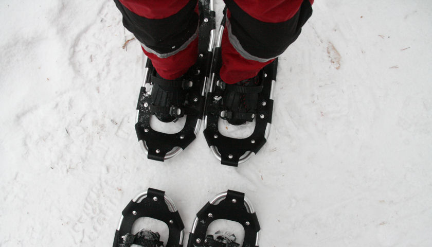 Book Lapland snowshoes