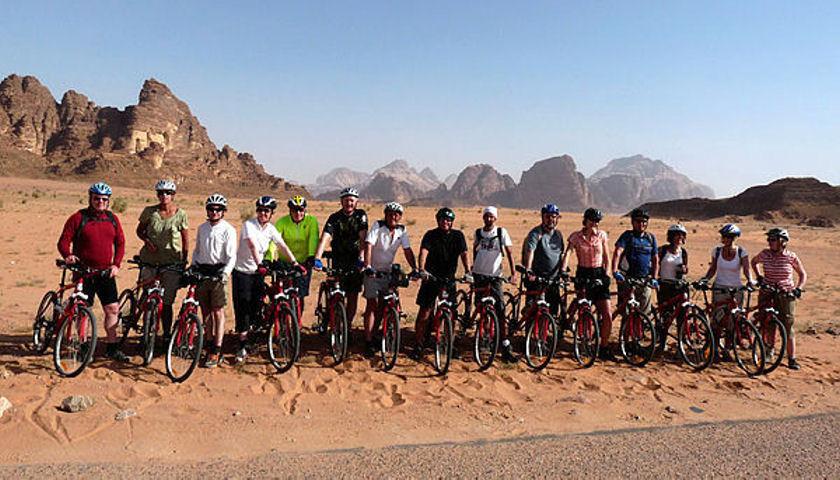 Petra cycling