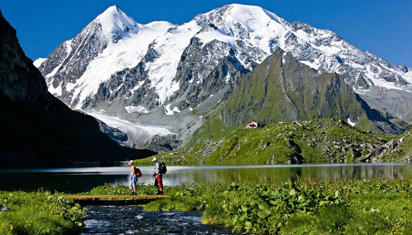 Alps hiking