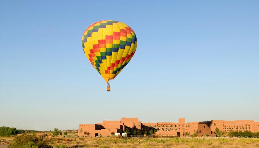 Hot Air Balloon at Tamaya