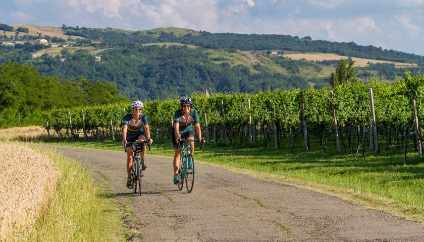 Tourissimo biking in Italy