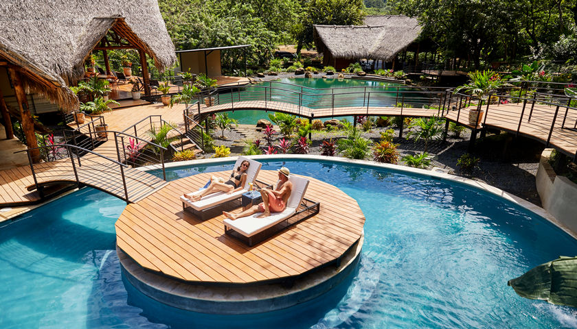 TreeCasa Resort pool