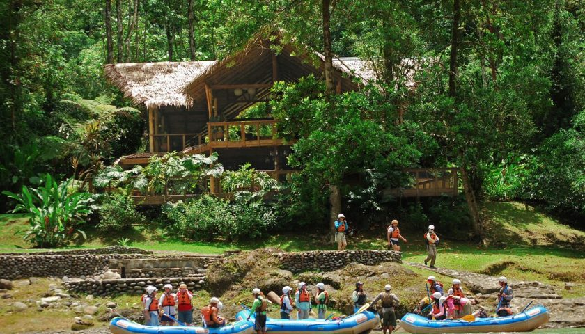 Pacuare Lodge rafting