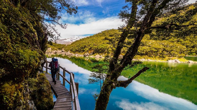 Trekking the South Island of New Zealand