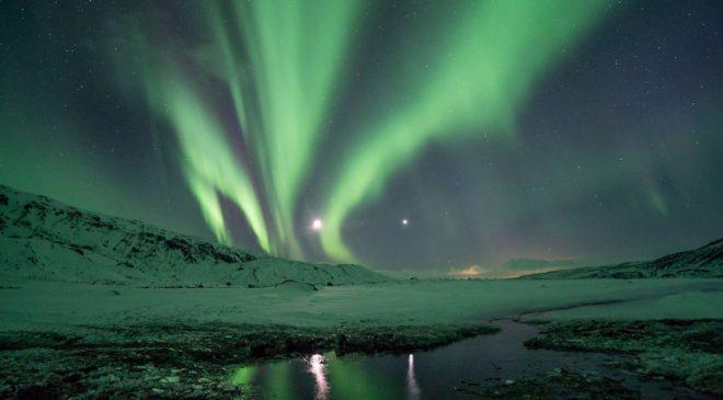 New WinterIcelandic Aurora Borealis Adventure Just for Women