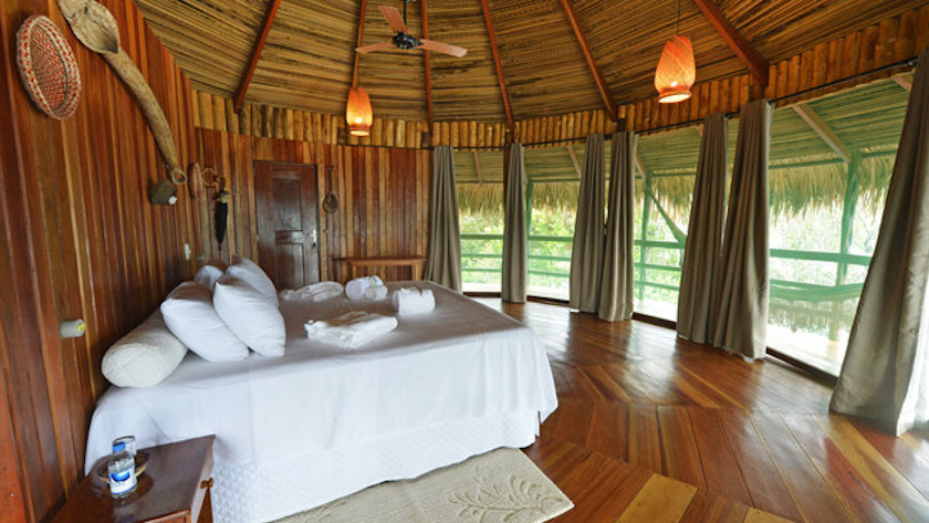 bungalow of Juma Amazon River