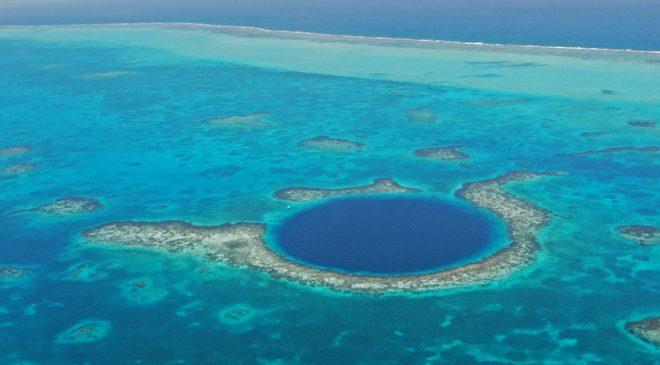 Richard Branson, Fabien Cousteau & Aquatica Blue Hole Expedition in Belize