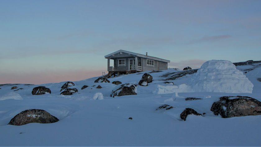 Igloo in Greenland