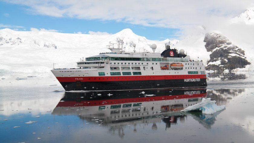 MS Fram ship exterior