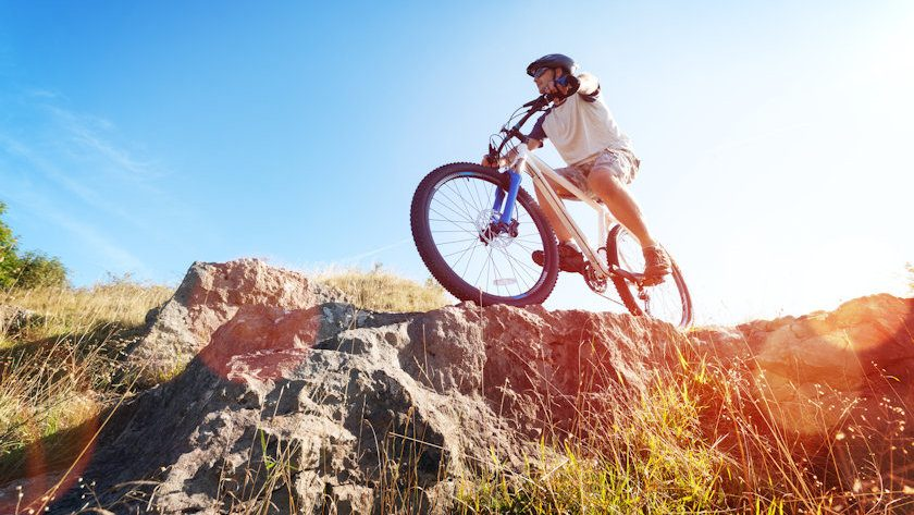 mountain biking health