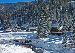 Escape to Dunton Hot Springs this Winter