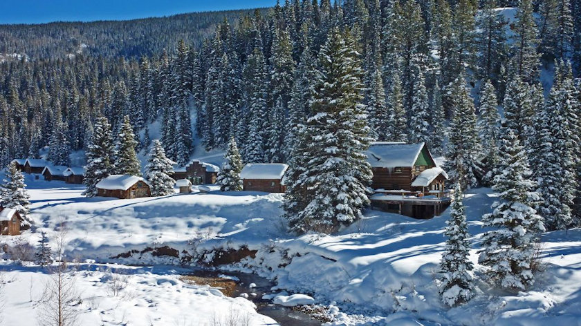 Dunton Hot Springs winter