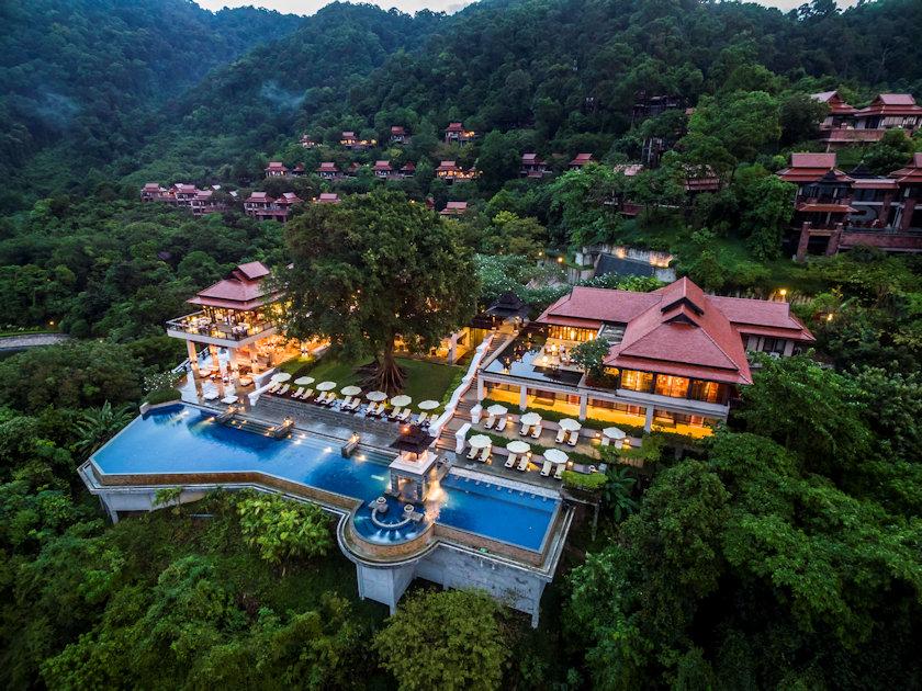 Pimalai resort aerial view