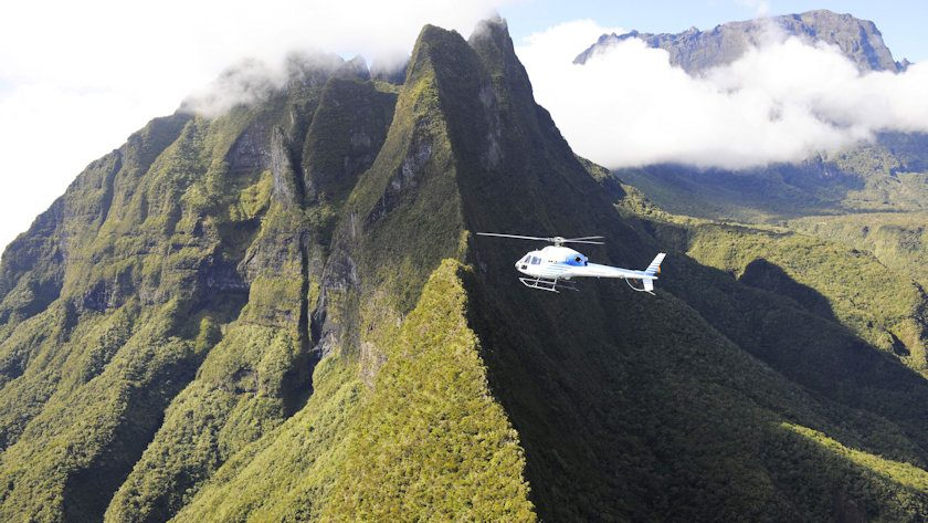 La Reunion helicopter