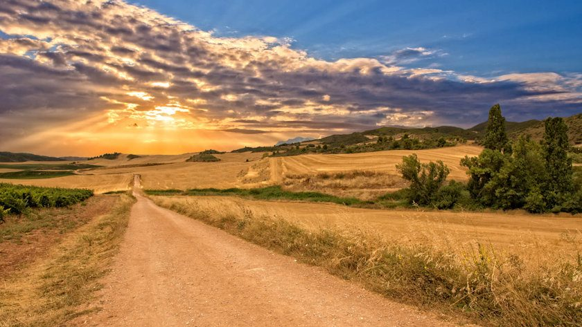 Camino de Santiago in Spain