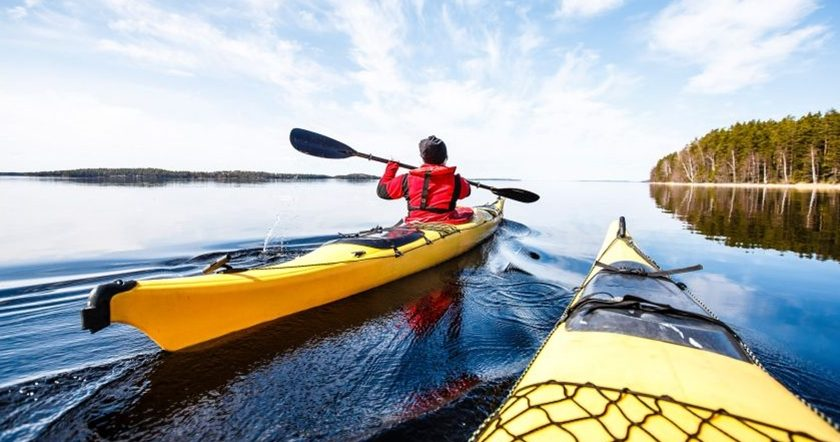 Finland kayaking