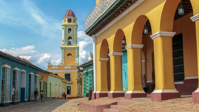 Havana Cuba bell tower