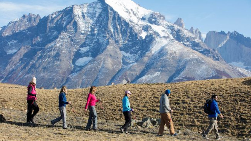 Patagonia Camp hiking