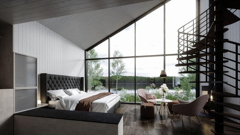 Arctic Bath guestroom