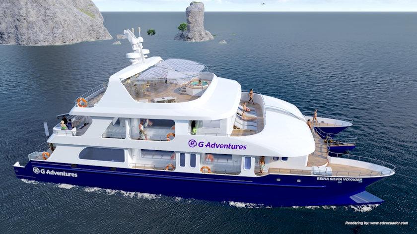 Reina Silvia Voyager catamaran