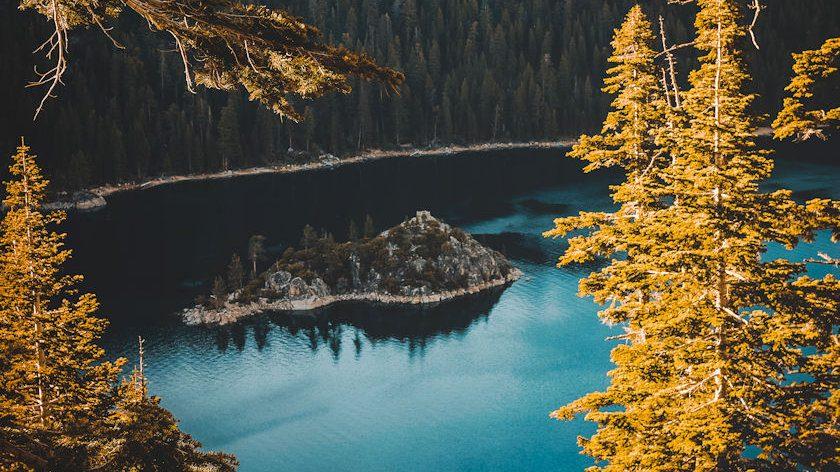 Lake Tahoe in Autumn