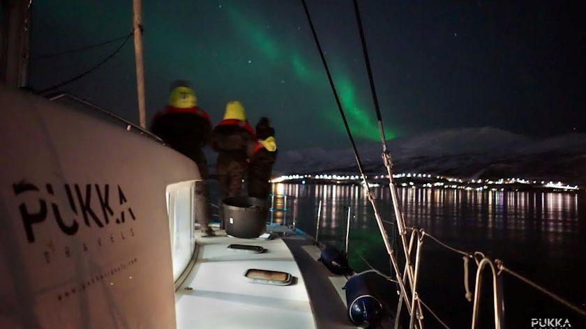 Sail under Aurora