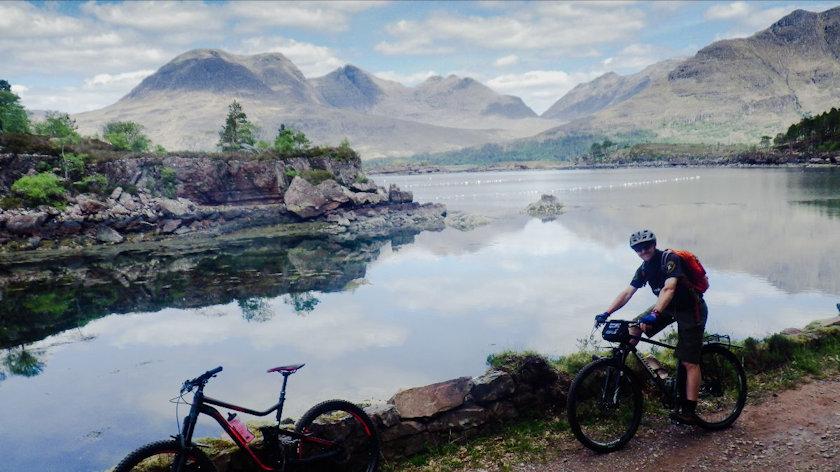 Wilderness Scotland biking