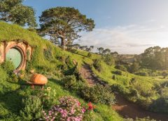 New Scenic Flights from Auckland to 'Middle Earth' to Visit Hobbiton