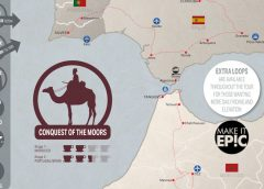 NEW 1,488 km Cycling Tour Across Morocco, Portugal & Spain